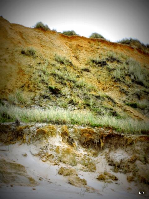 Am roten Kliff